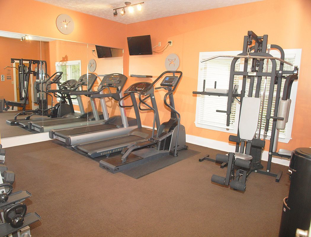 Fitness center at Fox Chase South