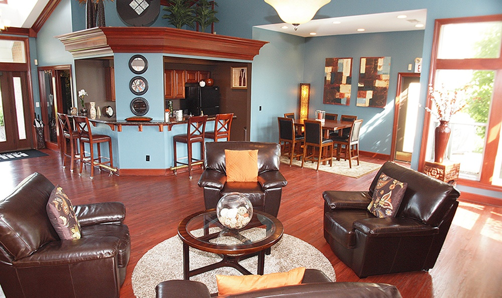 Take advantage of the Clubhouse amenities At Apartments In Loveland Ohio