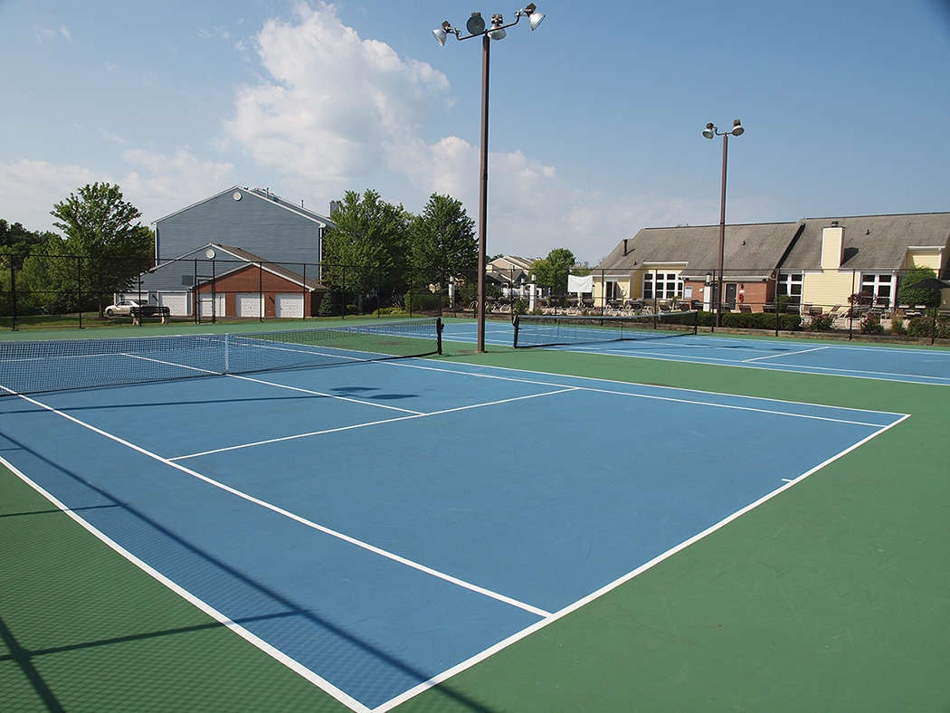Tennis courts at Waterford Place