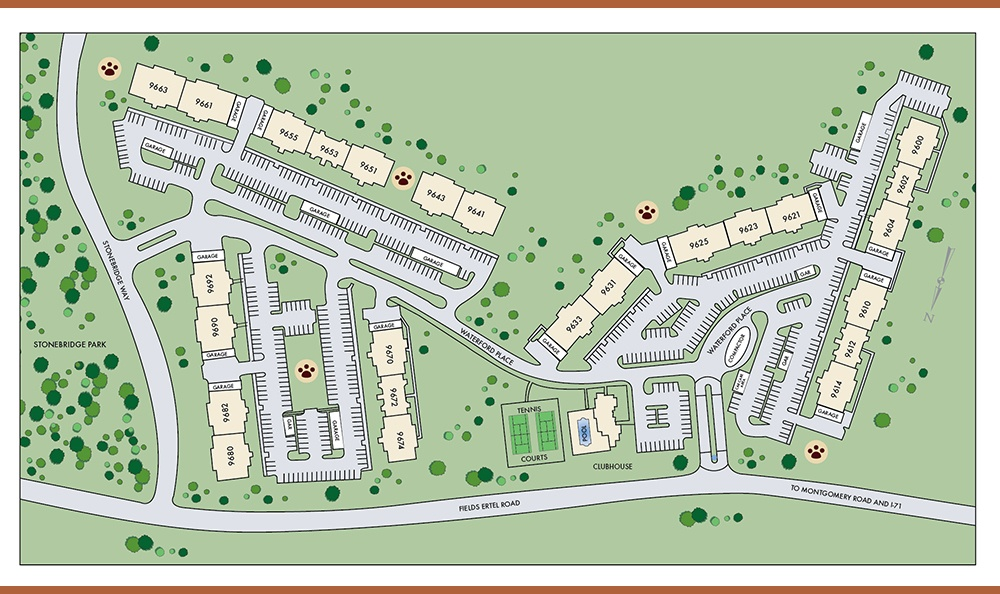 Sitemap At Apartments In Loveland Ohio