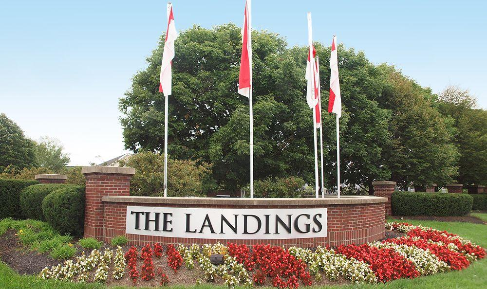 entrance sign at The Landings at Beckett Ridge in