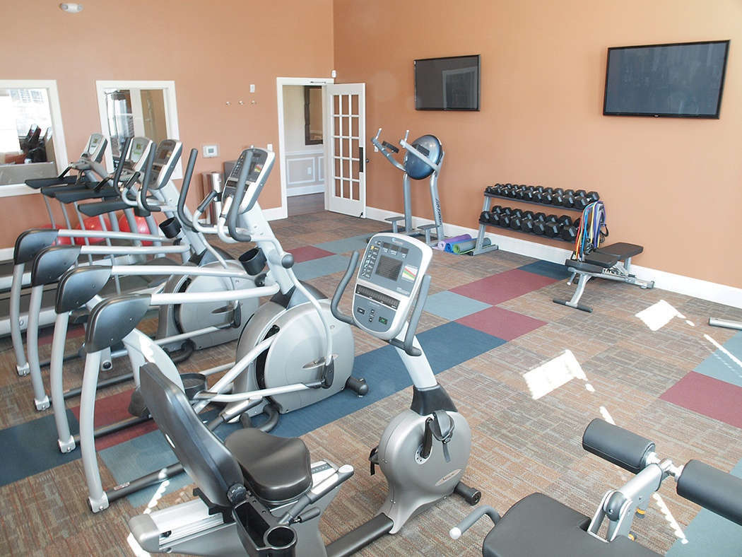 Fitness Center at Brinley Place Apartments