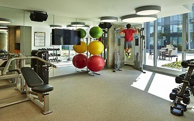 Gym at Stadium Place