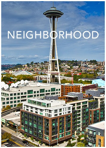 Explore the neighborhood around The Century in Seattle, WA
