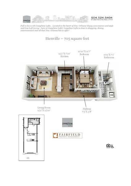 Luxury 1 2 bedroom apartments in new orleans la - 2 bedroom apartments new orleans ...