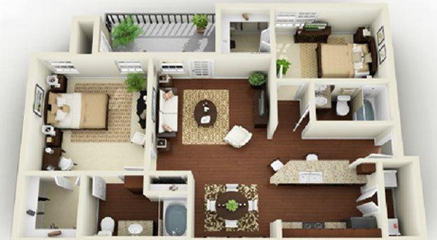la apartments 2 bedroom. 2 Bedroom Luxury 1  3 Apartments in Bossier City LA