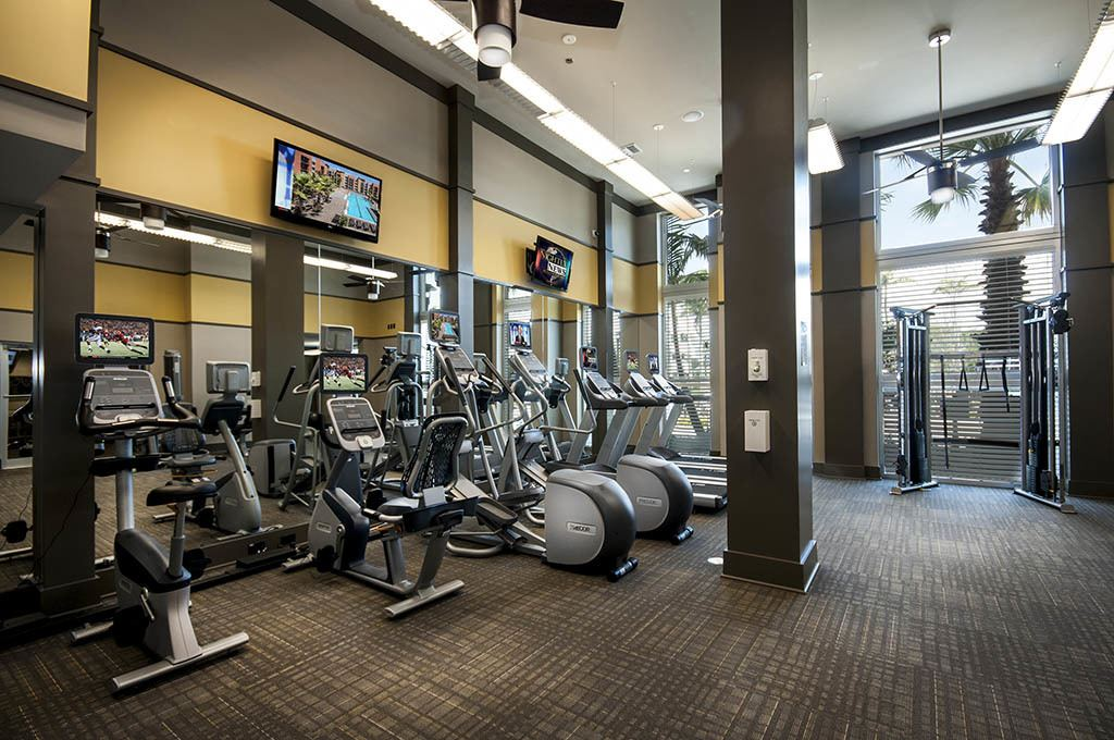 Fitness center at Alta Congress