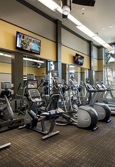 Luxury workout facility in Delray Beach