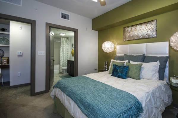 Inner bedroom view at Alta Congress