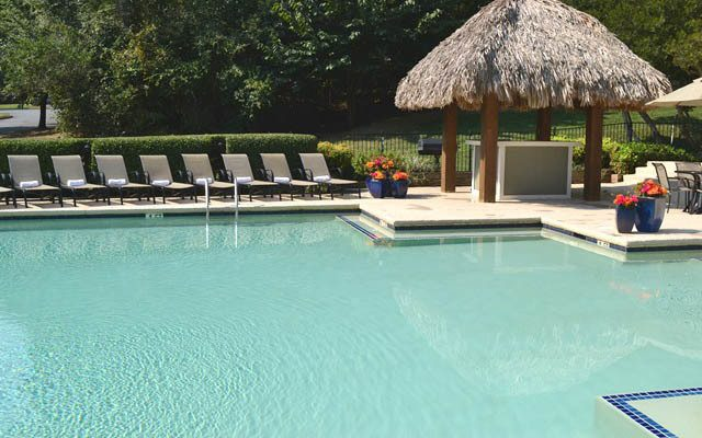 Pool at The Villages Apartments in NC
