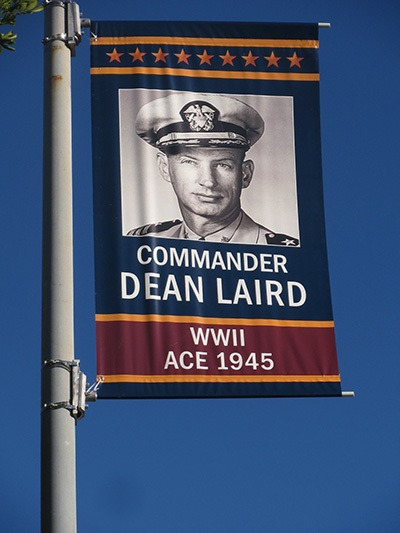 Byron Park Community proudly salutes aviation legend on Veteran's Day.