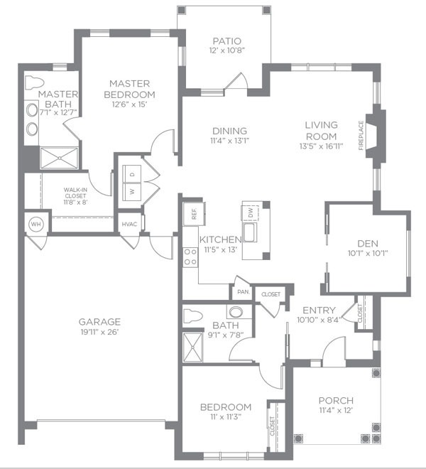 Floor Plans Pricing Abbotswood At Irving Park