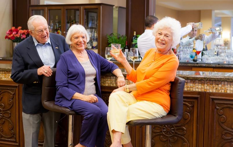 Senior Living Care Options In Palm Beach Gardens La Posada