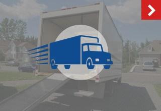 Free self storage move-in truck in Stockton