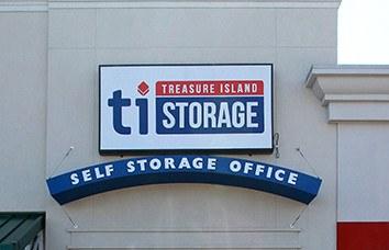 Featured location: Treasure Island Self Storage - Woodbridge