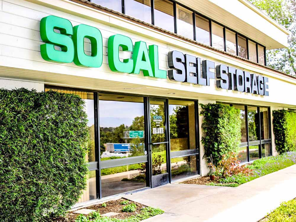 Front office at SoCal Self Storage in Thousand Oaks, CA
