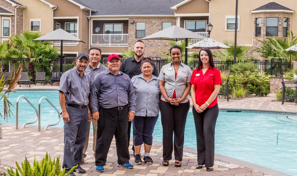 Nolan employees from The Avenues at Shadow Creek