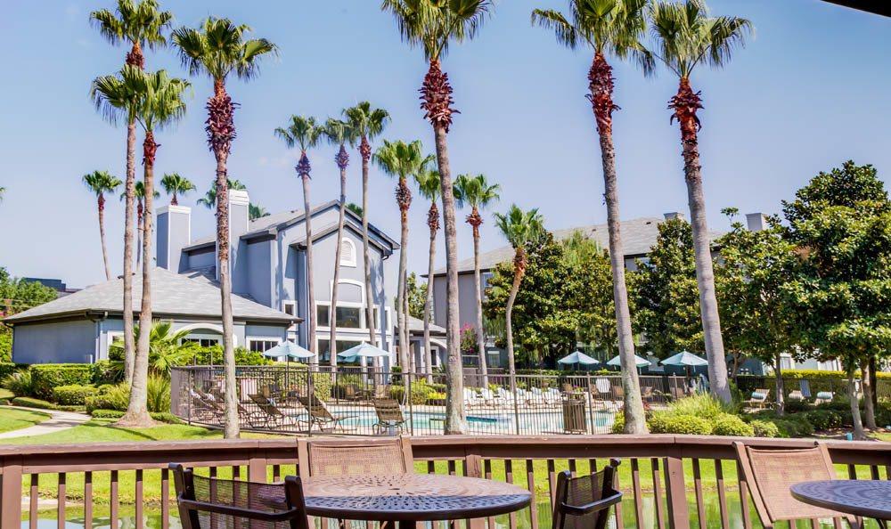 exterior at Palms at Clear Lake apartments