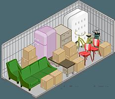 10x15 Storage unit at Storage Court