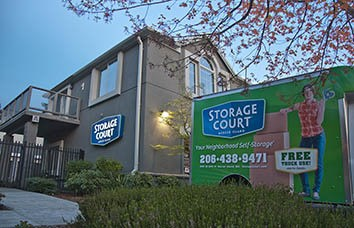 Storage facility in Mercer Island