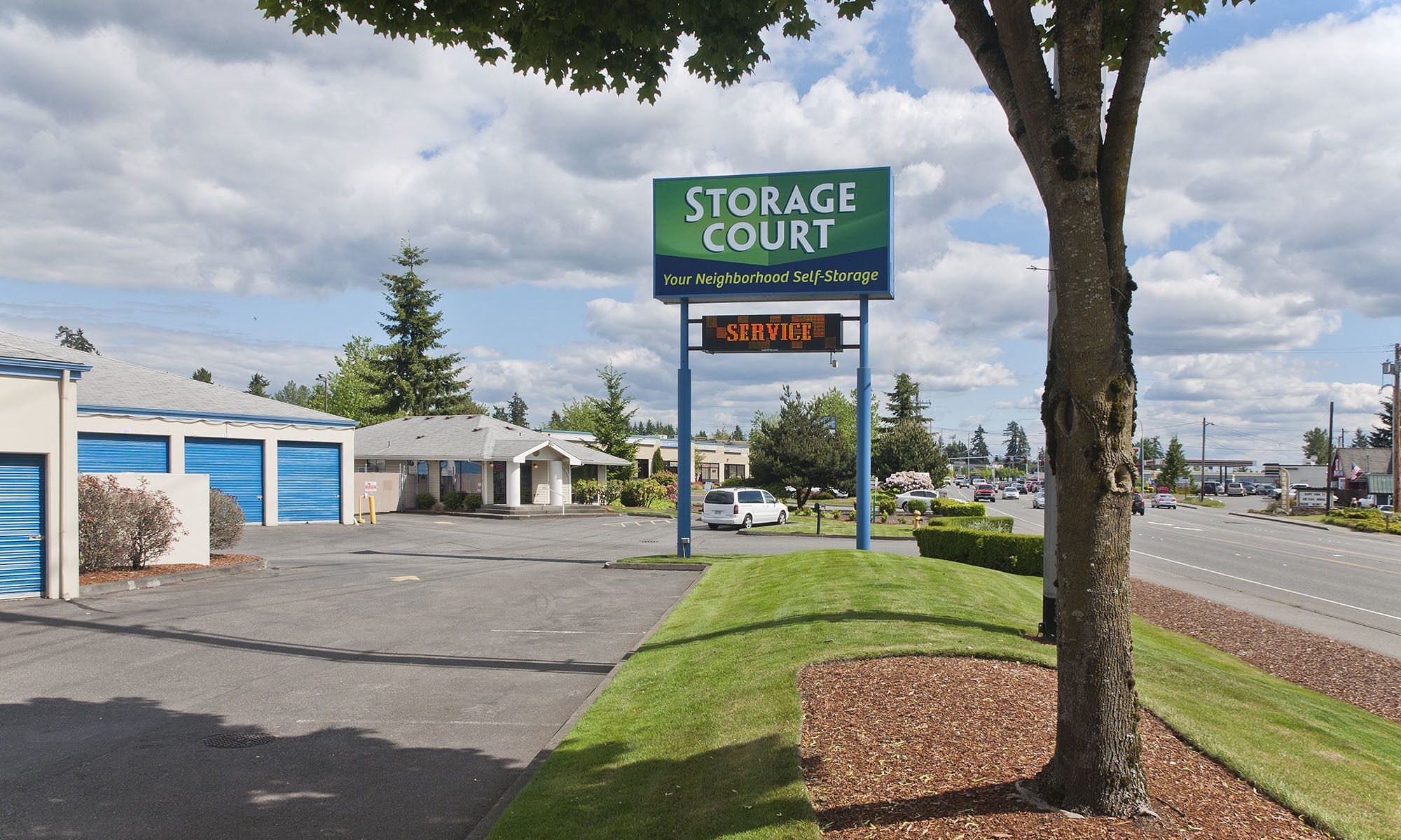 Self storage in Mill Creek WA