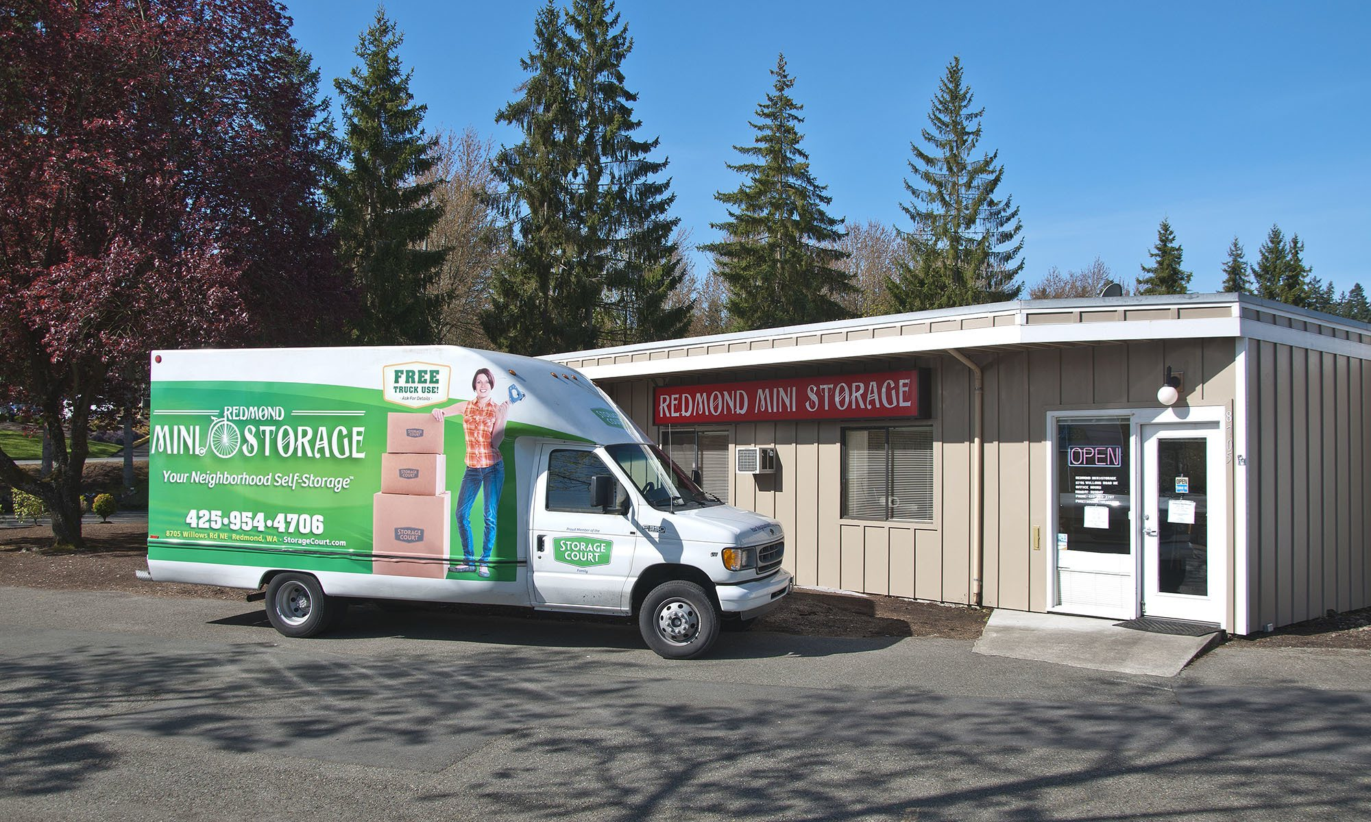 Self storage in Redmond WA