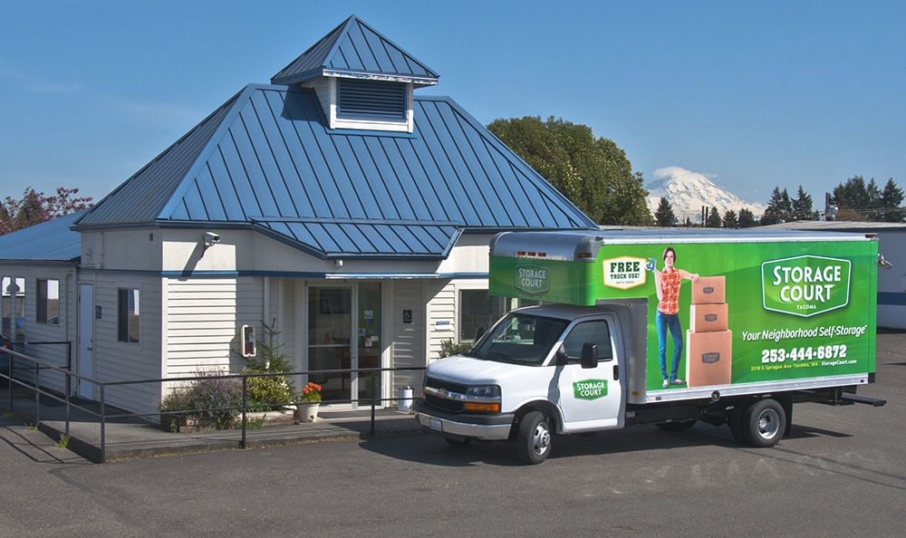 Welcome to secure self storage in Tacoma