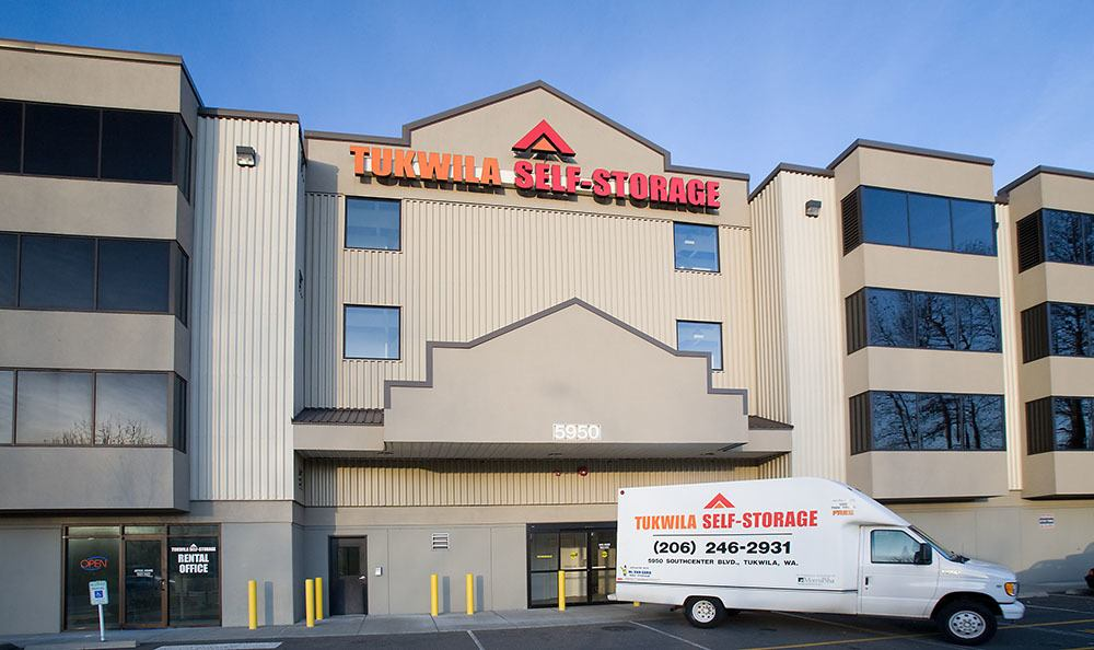 Welcome to self storage in Tukwila