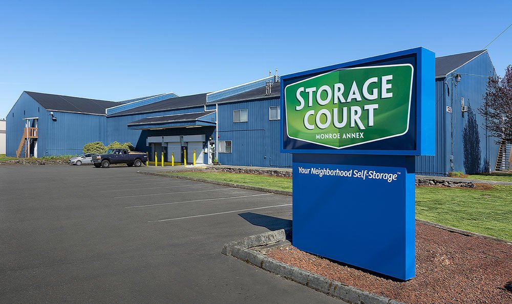 Your neighborhood self storage in Monroe, WA