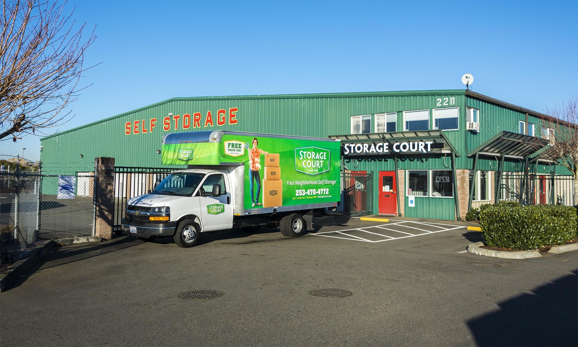 Self storage in Tacoma WA