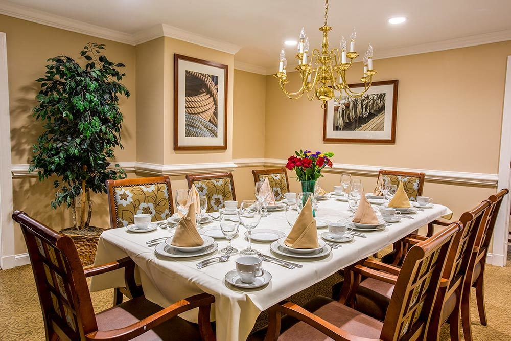 Beautiful dining area in Milford, CT