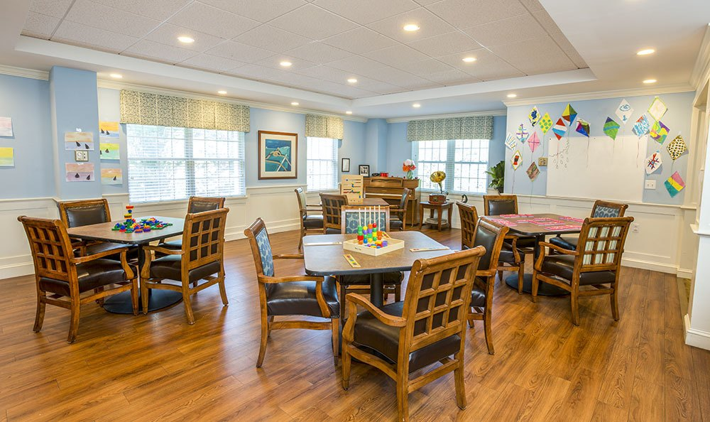 We have several dining area options at Carriage Green at Milford