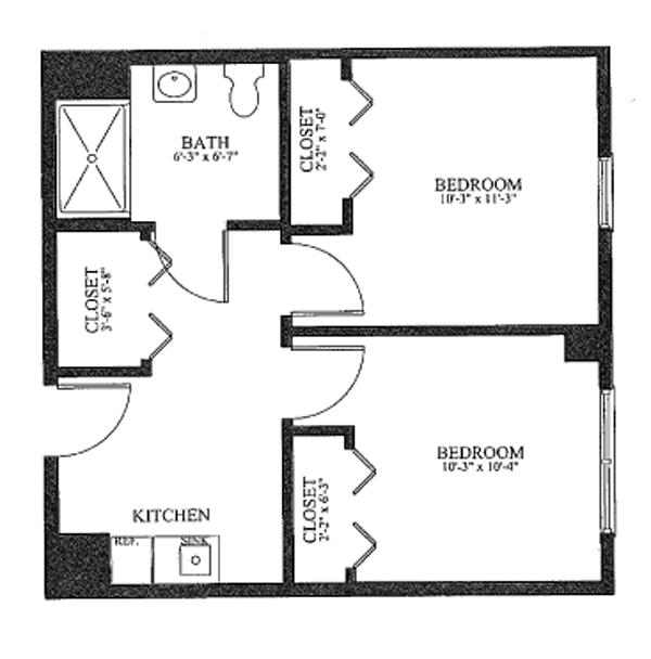 Ridgefield CT Senior Living Floor Plans Benchmark Senior Living - Blank floor plan