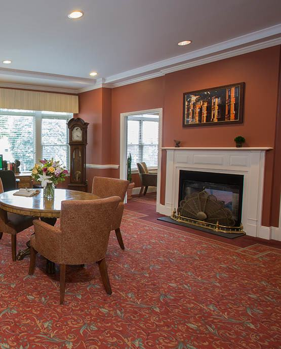 Assisted living at Chestnut Park at Cleveland Circle in Brighton, MA
