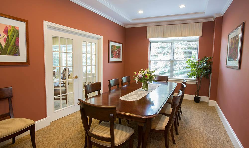 Lovely dining room in Brighton, MA