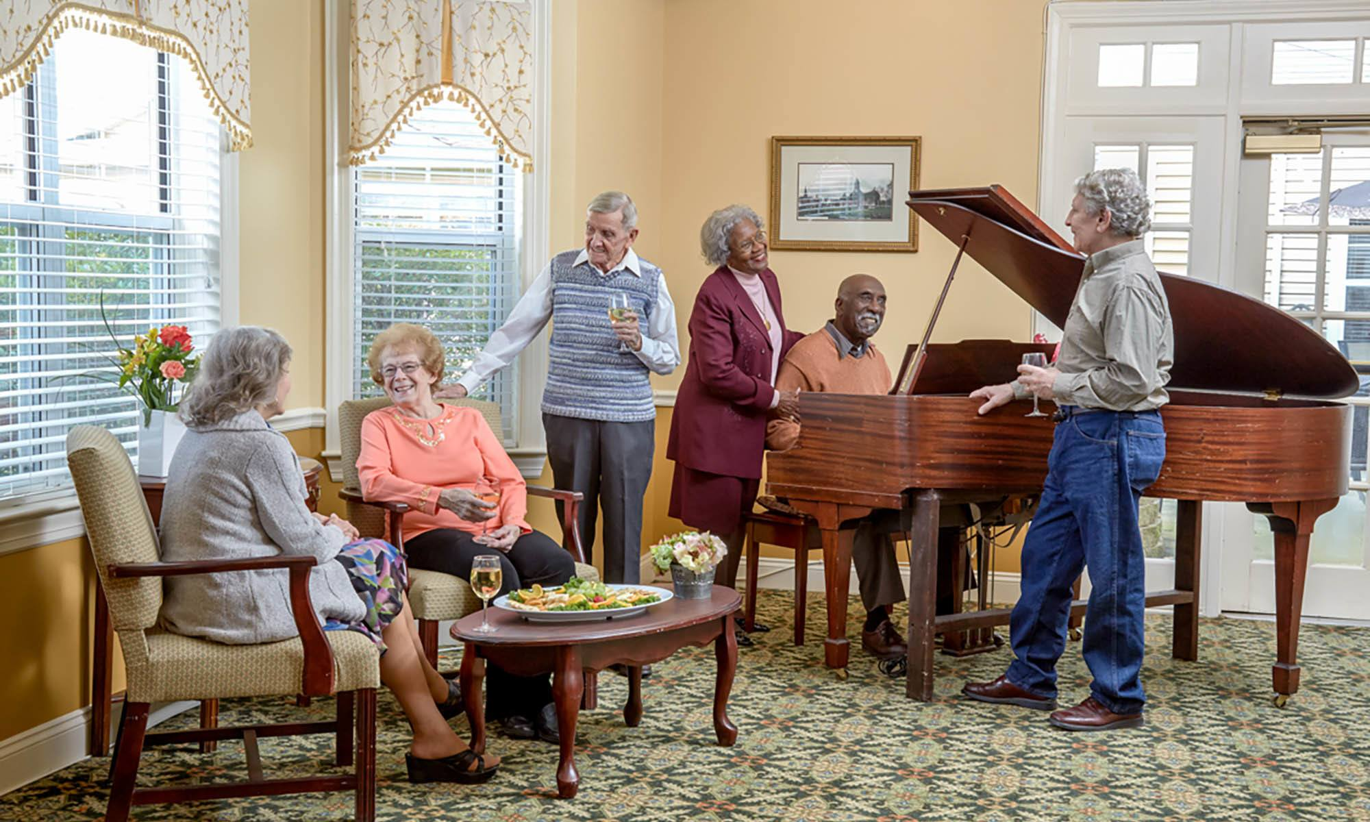 Senior living in North Chelmsford, MA