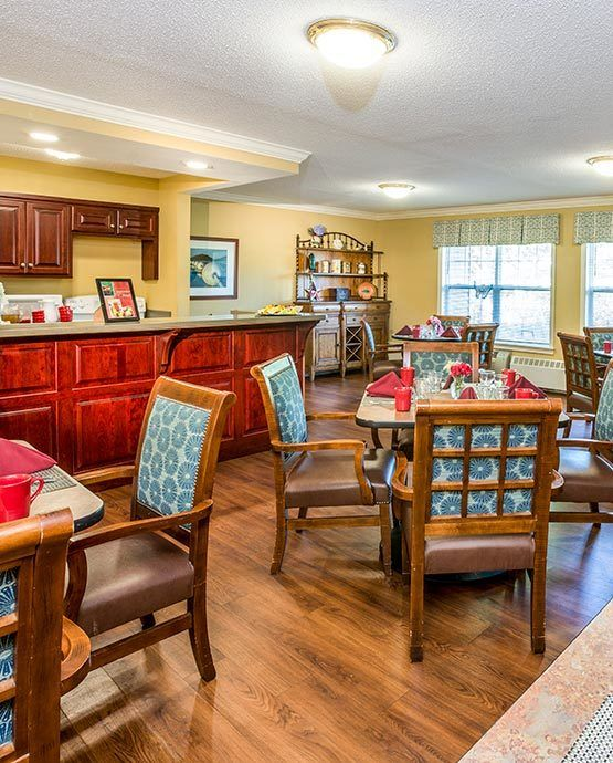 Assisted living at Blenheim-Newport in Middletown, RI
