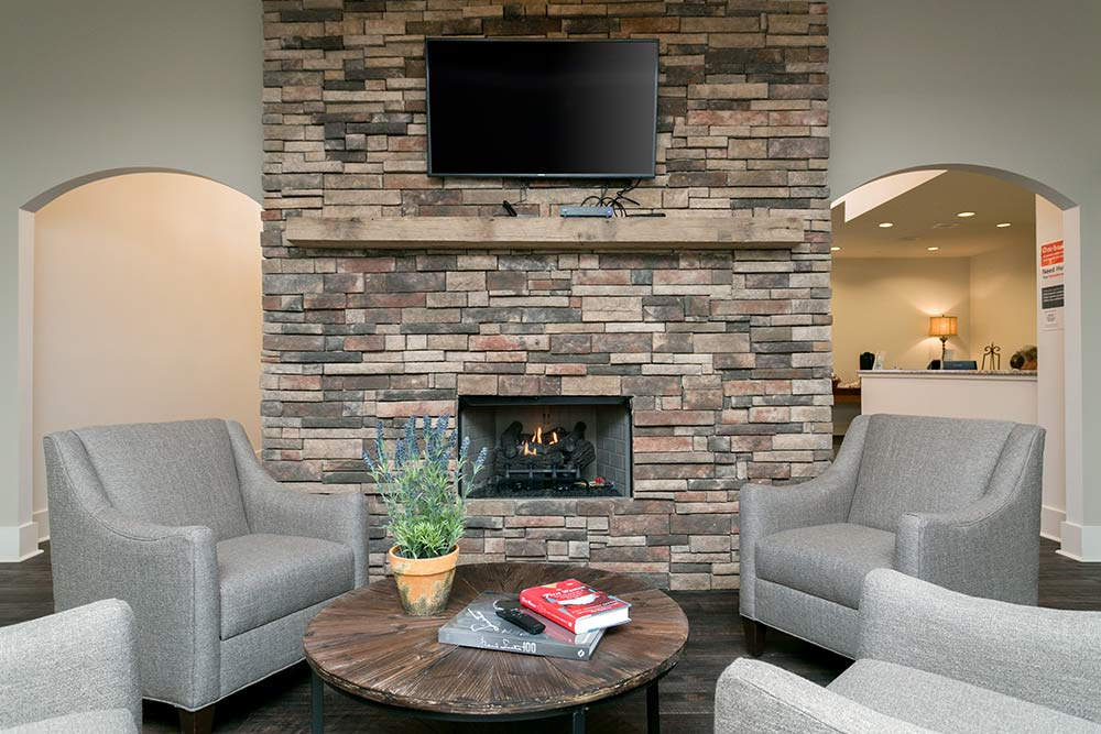 Beautiful community interior of Westminster Memory Care in Dallas
