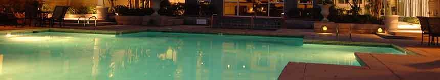 Santa Clara apartments with a sparkling pool