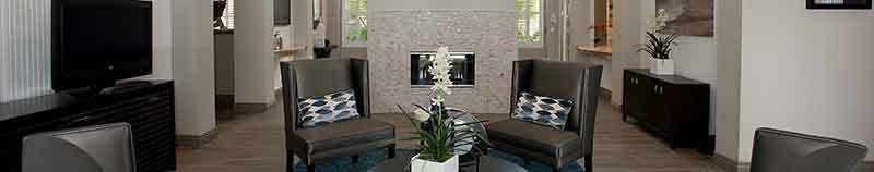 Santa Clara apartments lobby