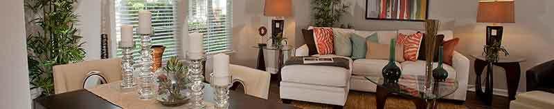 Living room at Nantucket Apartments