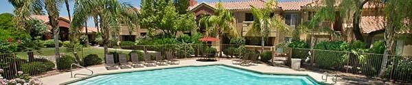Mesa apartments have a swimming pool