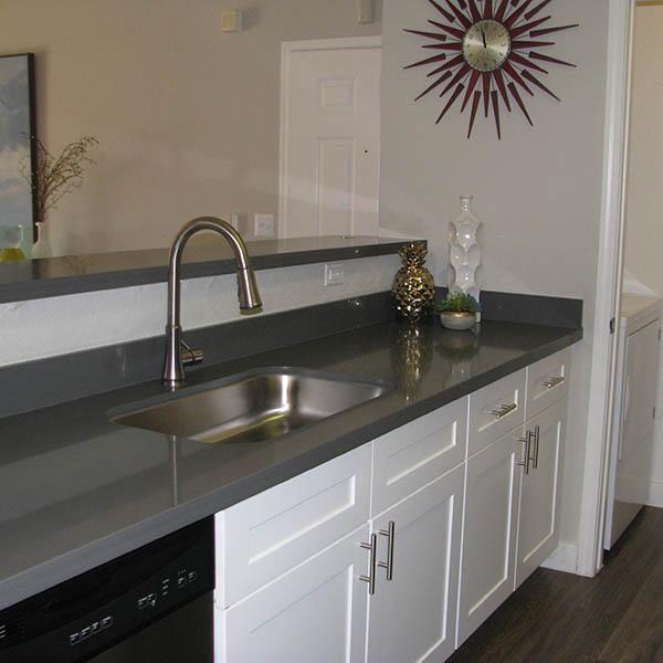 Kitchen Counter at Ocotillo Bay Apartments