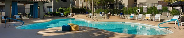 Scottsdale apartments with a swimming pool