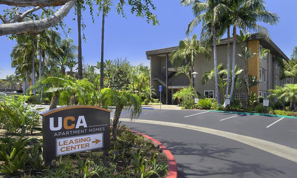 Leasing Office at UCA Apartment Homes in Fullerton, CA