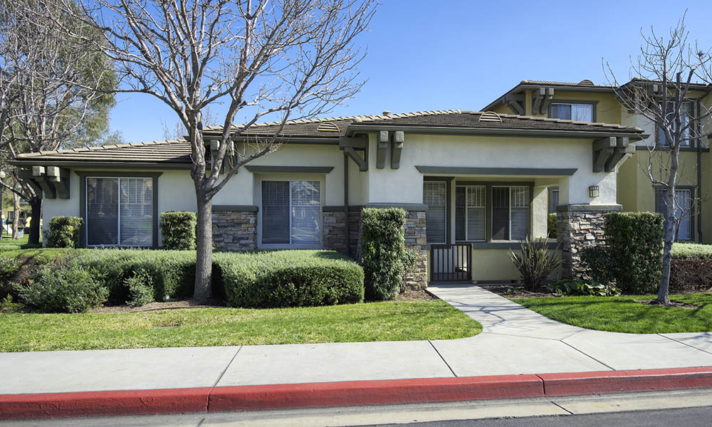 Apartment Exterior at Camino Real in Rancho Cucamonga, CA