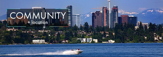 Modern amenities at the apartments for rent in Kirkland