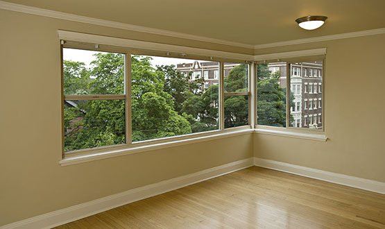 Interior room of Seattle apartment for rent