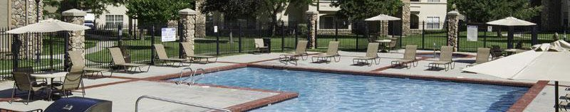 Sandy apartments has a sparkling swimming pool