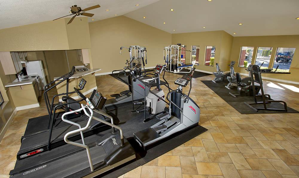 Fitness Center at Crystal Creek Apartments